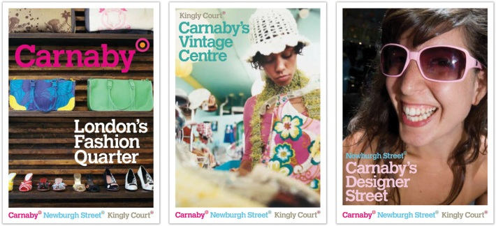 Carnaby district brand strategy